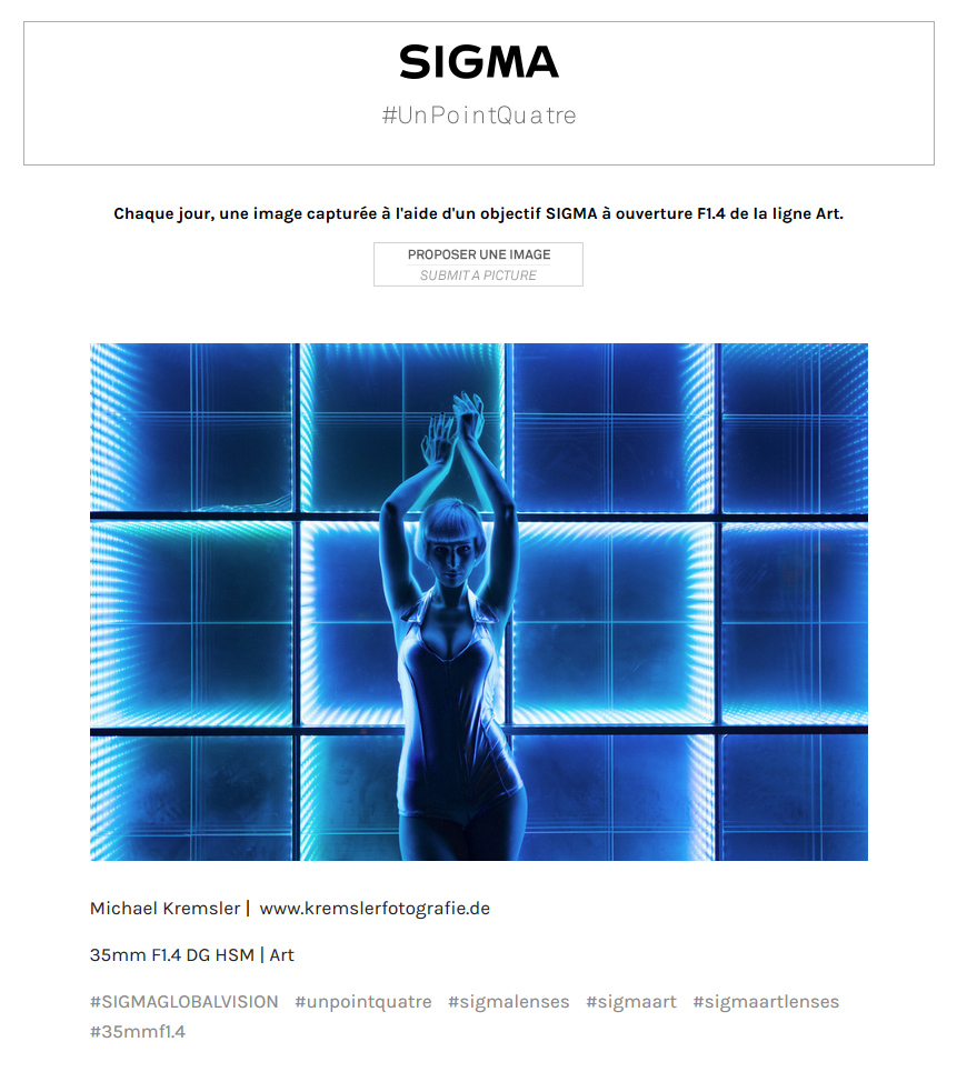 Sigma France blog